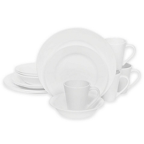 Corelle® Shimmering White 16-Piece Dinnerware Set at Bed Bath & Beyond in Cypress, TX | Tuggl