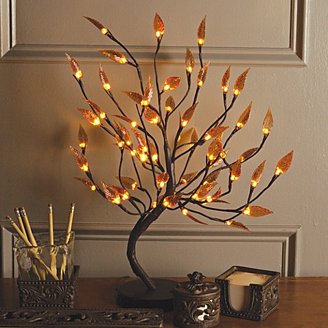 Lighted Decorative Tree Bed Bath Beyond