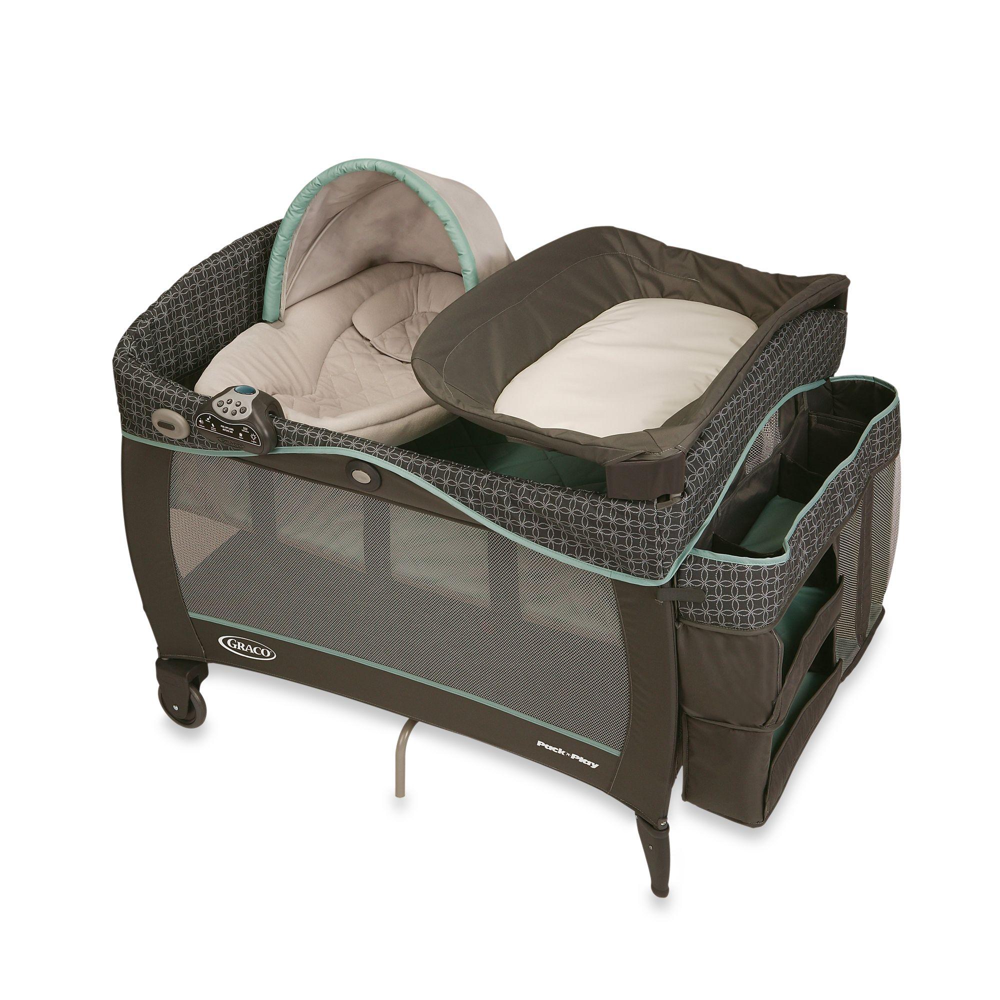 Graco® Pack ?n Play® Playard with Newborn Napper® Elite in Cascade