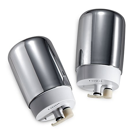 Brita 174 On Tap 2 Pack Chrome Faucet Filters Bed Bath Amp Beyond