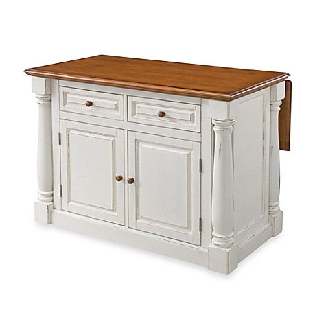 Home styles monarch antiqued kitchen island bed bath beyond - Bed bath beyond kitchen ...