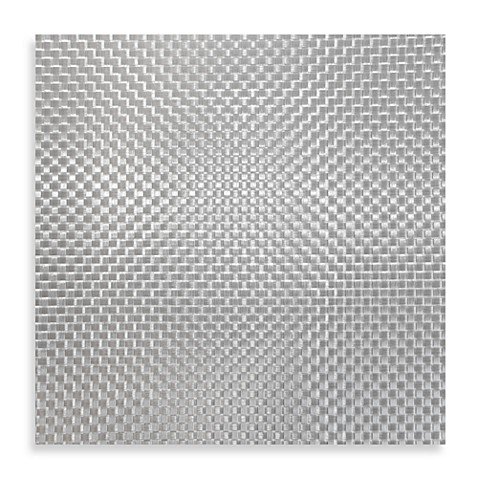 Buy bistro woven square placemat in silver from bed bath for Small square placemats