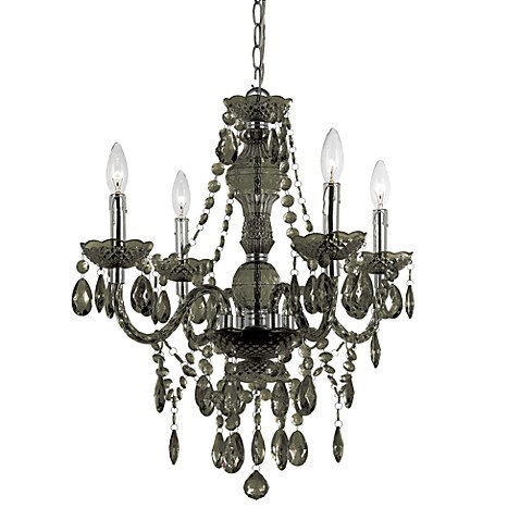 Buy AF Lighting Naples Chrome Mini Chandelier In Smoke From Bed Bath Be
