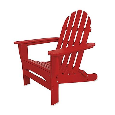 Polywood 174 Folding Adirondack Chair Bed Bath Amp Beyond