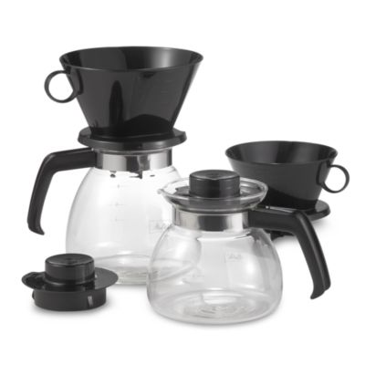 Melitta Coffee Maker Filter : Melitta Pour Over Coffee Makers with Glass Carafe - Bed Bath & Beyond
