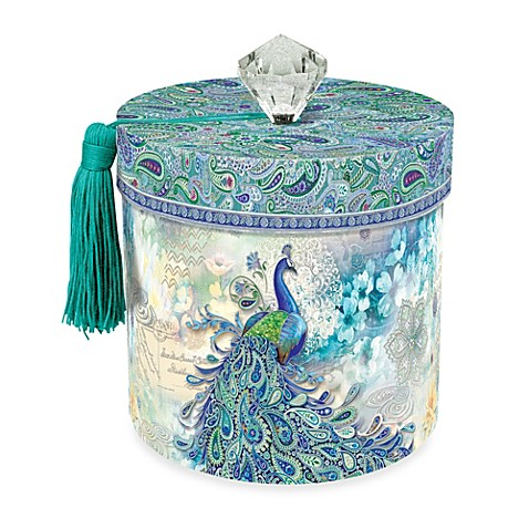 toilet paper holder in paisley peacock bed bath beyond
