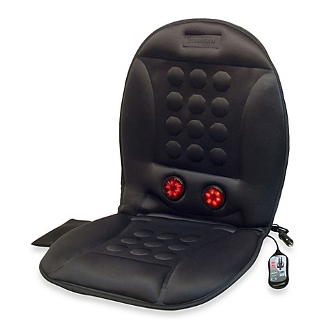12-Volt Infra-Heat Massage Cushion | Tuggl