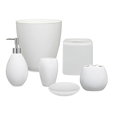 wamsutta elements white bath ensemble
