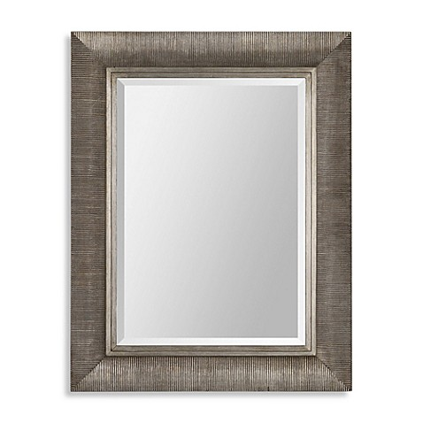 Buy ren wil taylor 28 inch x 36 inch mirror from bed bath for Mirror 42 x 36