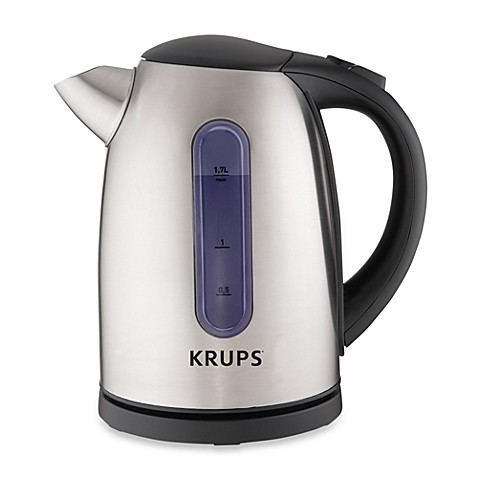 Krups 174 6 Cup Stainless Steel Electric Hot Water Kettle