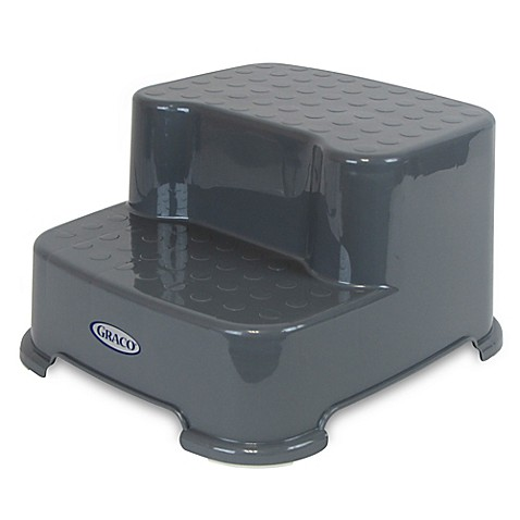 Step Stools Gt Graco 174 Transitions Step Stool In Pewter Grey