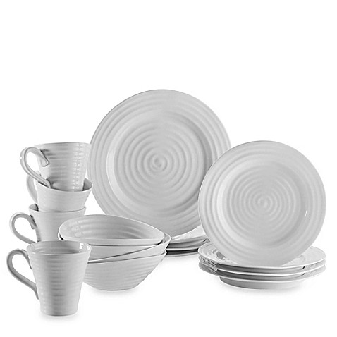 Sophie Conran for Portmeirion® 16-Piece Dinnerware Set in White at Bed Bath & Beyond in Cypress, TX | Tuggl