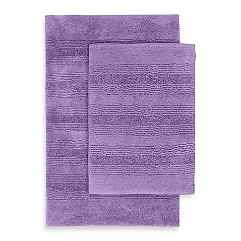 Buy Essense 2 Piece Bath Rug Set In Purple From Bed Bath