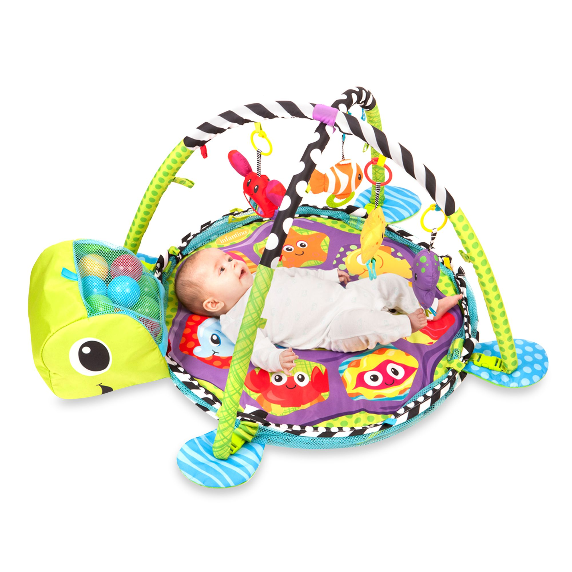 Infantino® Grow-With-Me Activity Gym & Ball Pit?