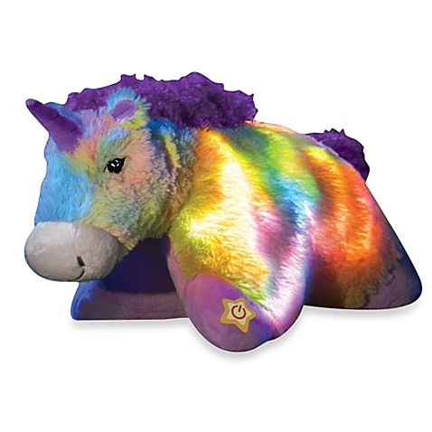 Clearance > Pillow Pets® Glow Pets™ Rainbow Unicorn from ...