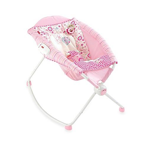 Fisher Price 174 Newborn Rock N Play Sleeper In Pink