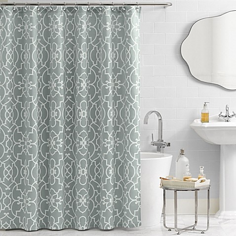 Buy Vue Signature Iron Gates 72 Inch X 84 Inch Shower Curtain From Bed Bath Beyond