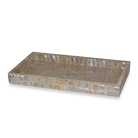 Capiz Large Vanity Tray Bed Bath Amp Beyond