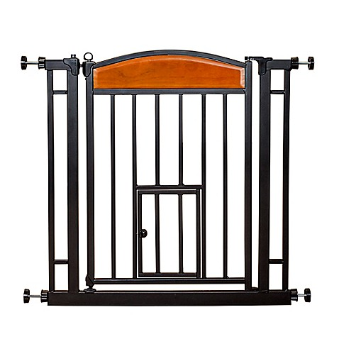 Carlson design studio pet gate bed bath beyond for Indoor gate design
