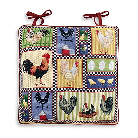 Buy Park B Smith 174 Roosters And Chickens Tapestry Chair