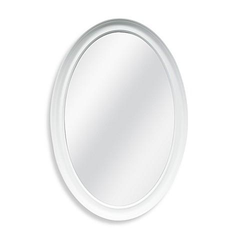 Decorative 21 Inch X 31 Inch Oval Mirror Bed Bath Amp Beyond