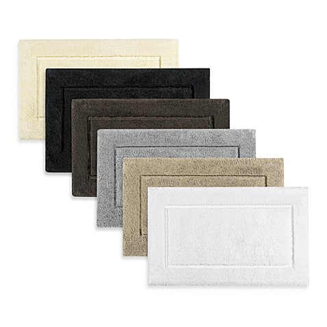 Kassatex Classic Premium Cotton 30-Inch x 50-Inch Bath Rug ...