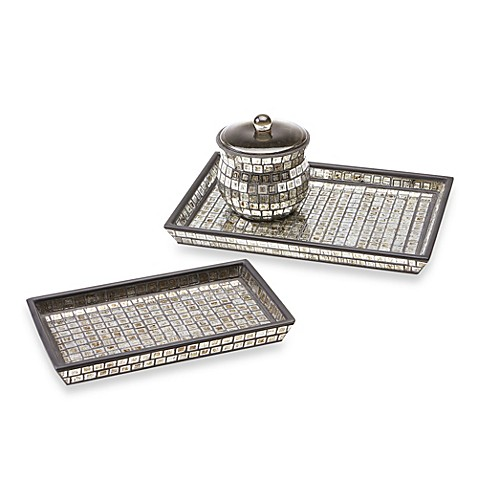 buy bombay moroccan bath small glass vanity tray from bed