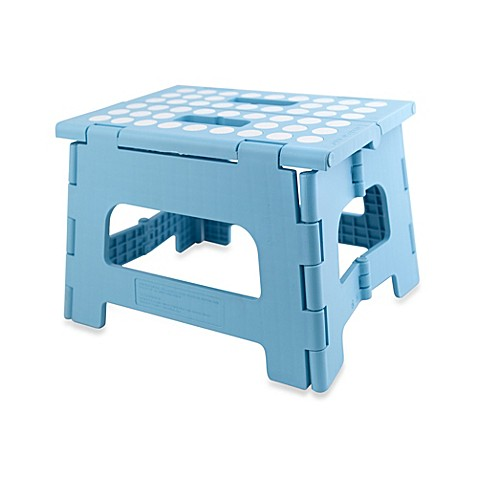 Step Stools Gt Kikkerland 174 Rhino Ii Folding Stool In Blue