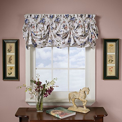 Rosabel 16 Quot Tucked Pleat Valance Bed Bath Amp Beyond