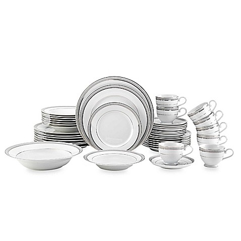 Mikasa® Platinum Crown 42-piece Dinnerware Set at Bed Bath & Beyond in Cypress, TX | Tuggl
