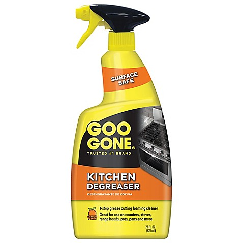 goo gone kitchen grease cleaner remover 28 ounce spray bottle bed bath beyond