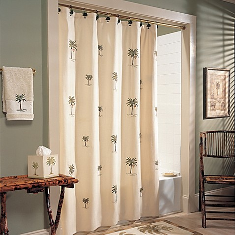 Croscill Port Of Call 72 Inch X 84 Inch Shower Curtain Bed Bath Beyond