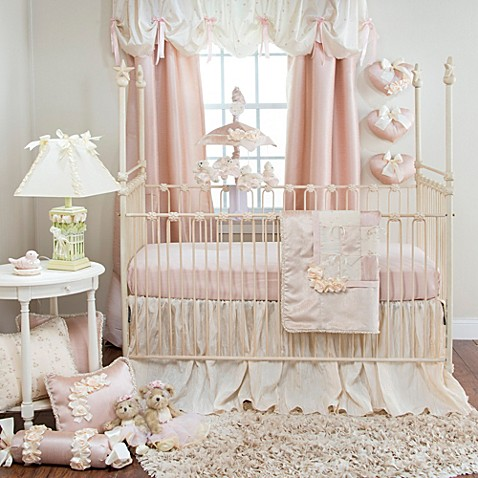 Crib Bedding Sets Gt Glenna Jean Ribbons Amp Roses 3 Piece