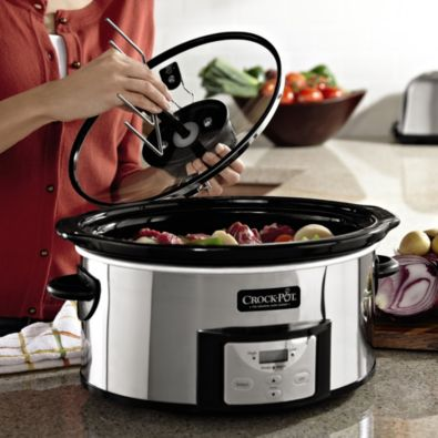 Crock-Pot® 6-Quart Digital Slow Cooker with iStir™ Automatic Stirring System - BedBathandBeyond.com