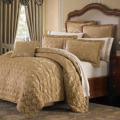 Michael Amini Victoria Coverlet Sham Bed Bath Amp Beyond