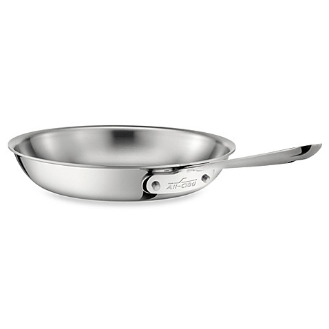 All Clad Stainless Steel 10 Inch Fry Pan Bed Bath Amp Beyond