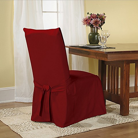 Sure Fit Duck Supreme Cotton Dining Room Chair Slipcover