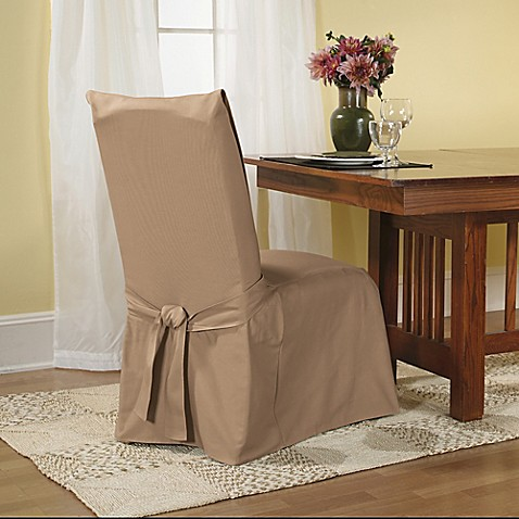 Sure Fit 174 Duck Supreme Cotton Dining Room Chair Slipcover