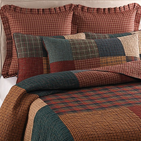 Donna Sharp Campfire Square Quilt Bed Bath Amp Beyond