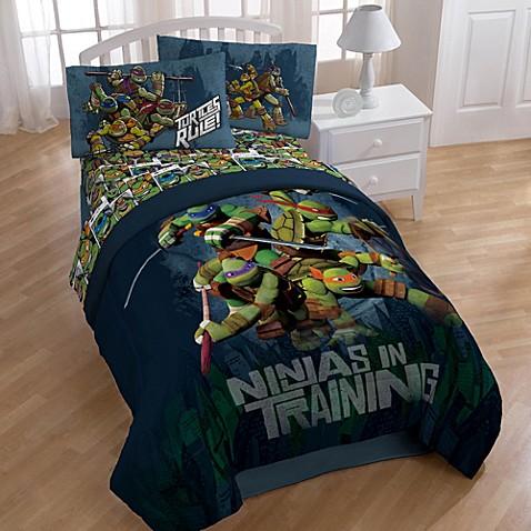 Teenage mutant ninja turtles dark ninja bedding and accessories