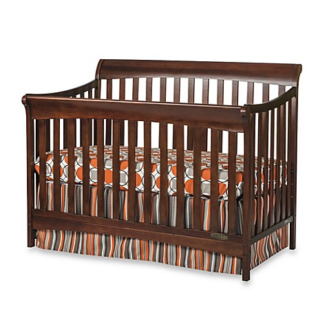 Child Craft™ Coventry 4 in 1 Convertible Sleigh Crib in