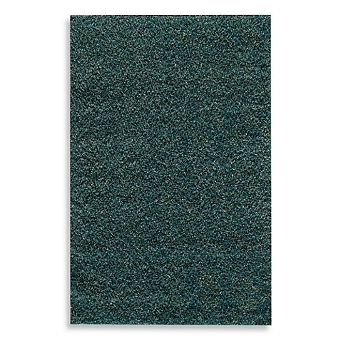 Rugs America Cambria Expo Shag Rug In Blue And Teal Bed