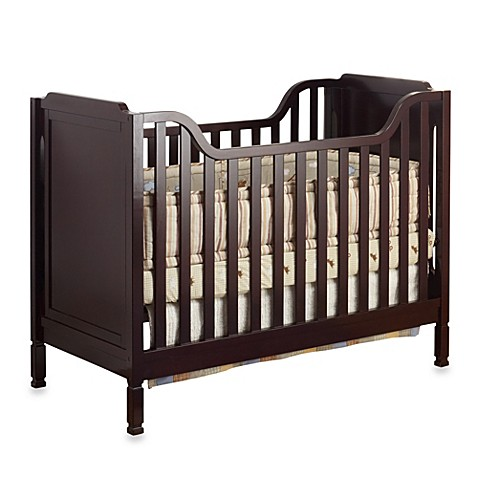 Standard Cribs Sorelle Bedford Classic Crib In Espresso From Buy Buy Baby