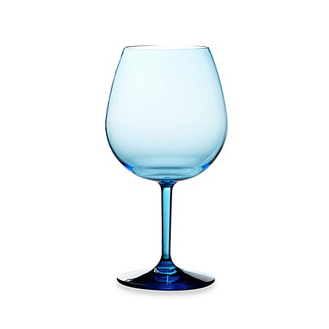Shatterproof Red Wine Glass In Cool Blue Bed Bath Beyond
