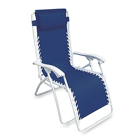 Buy Multi Position Relaxer Zero Gravity Chair In Blue From