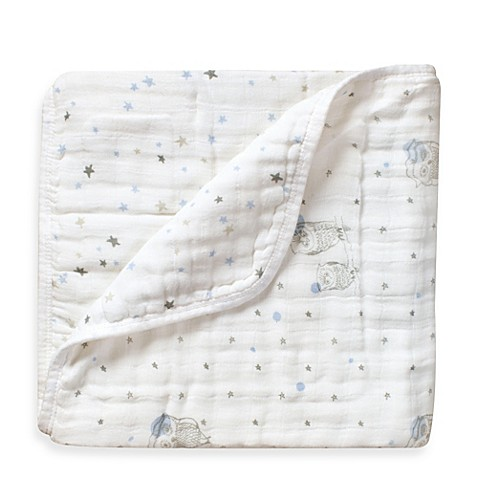 Aden Anais 174 100 Cotton Muslin Dream Blanket In Night