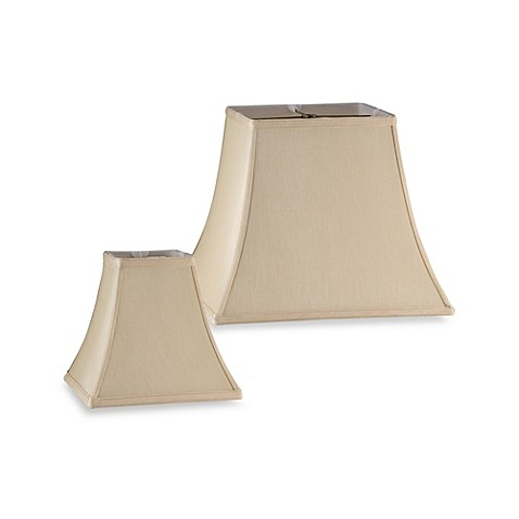 lamps lamp shades mix and match square bell shaped lamp shade in. Black Bedroom Furniture Sets. Home Design Ideas