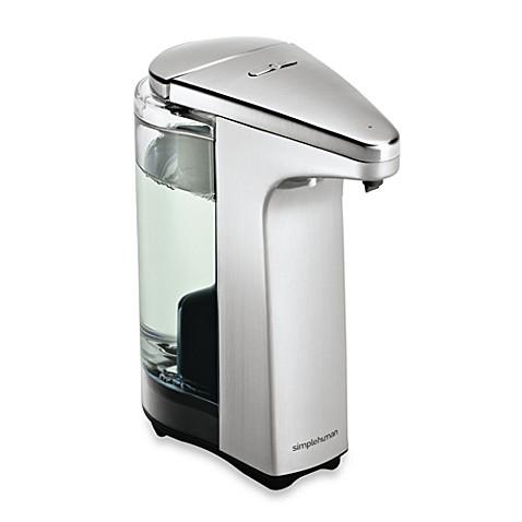 Bed Bath Beyond Simplehuman Soap Dispenser