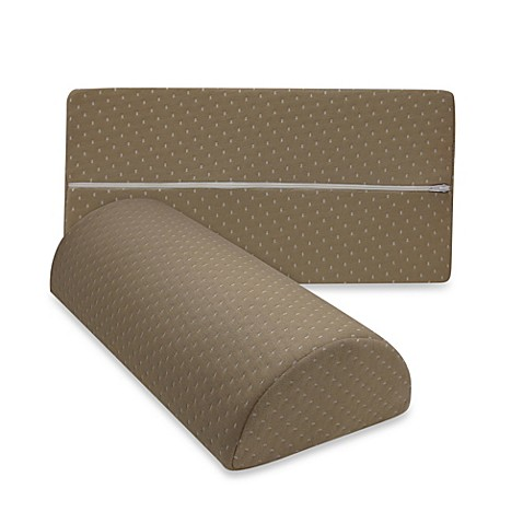 Therapedic Any Position Memory Foam Pillow in Taupe - BedBathandBeyond.com