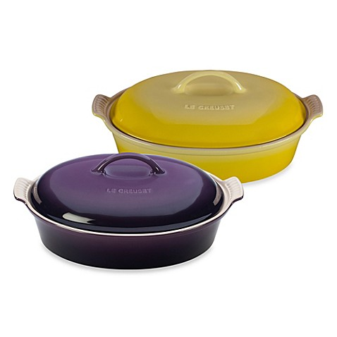 Le Creuset 174 4 Quart Oval Covered Casserole